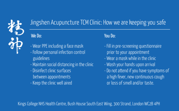 Kings Acupuncture Clinic Open for Appointments